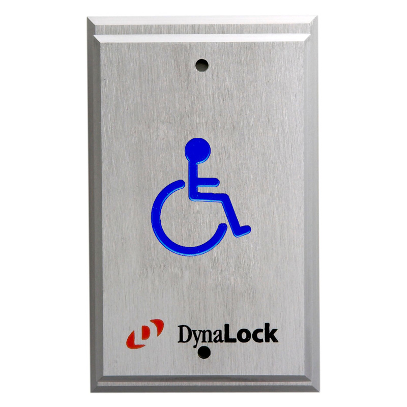 Pushplates 6705 6805 Series Handicapped Pushplates